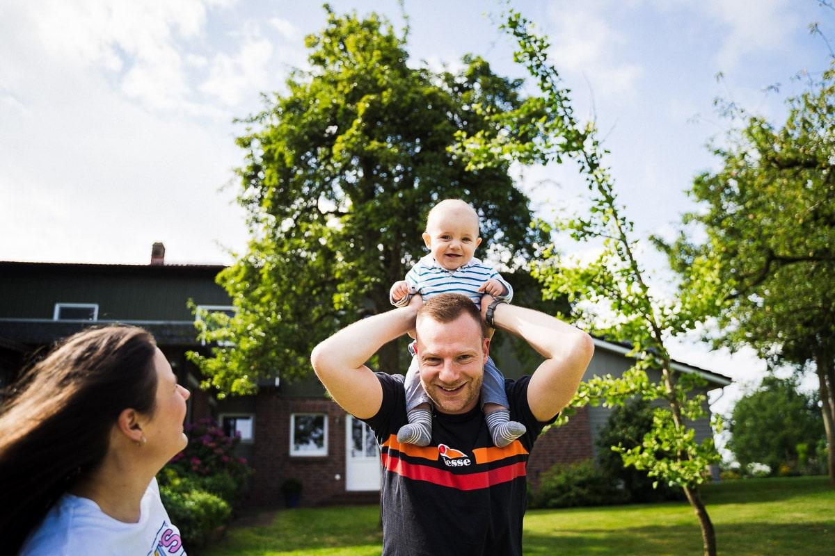 Familie Shooting Fotograf Neumuenster